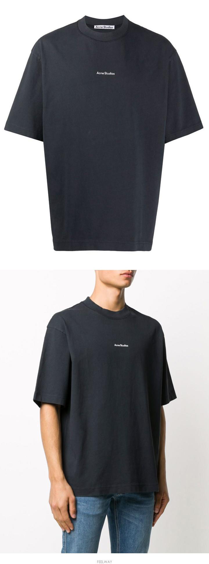 [당일]21SS 시그니처 로고 라운드 티셔츠 BL0198 900